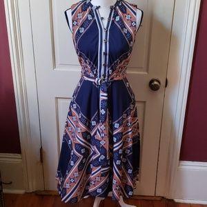 Gorgeous dress with belt from eshakti 6